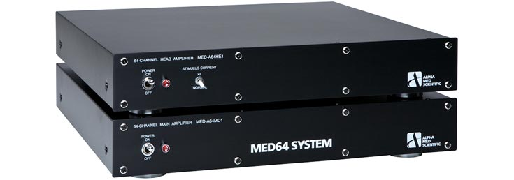 AlphaMED  MED64 Main/Head Amplifier set