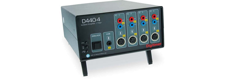 Digitimer D440  2 or 4 Channel Isolated Amplifier