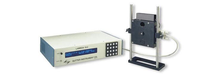 Optical filter changer Lambda 10-2 (Sutter Instrument)