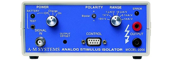 A-M Systems  Model 2200  Analog Stimulus Isolator