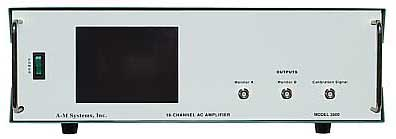 A-M Systems  Model 3600  16 Channel microelectrode differential AC amplifier